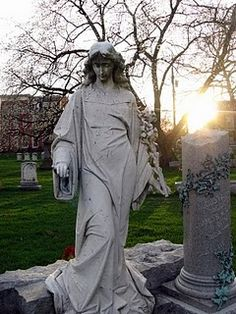 The Walking Bride in Lancaster City Cemetery, Lancaster, PA