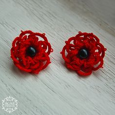 A Power of Pomegranate Cotton, beads