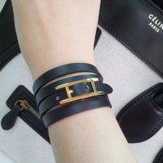 (29) Fancy - Hapi 3 MM Bracelet by Hermes