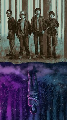 Stranger Things by Sam Gilbey - Home of the Alternative Movie Poster -AMP- Stranger Things Netflix, Stranger Things Quote, Stranger Things Aesthetic, Stranger Things Season 3, Eleven Stranger Things, Stranger Things Upside Down, Photos Des Stars, Handy Wallpaper, Film Anime