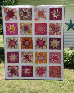 Gorgeous star quilt from Old Red Barn Co.