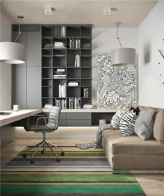 Attractive Contemporary Loft With A Sense Of Playfulness And Fun