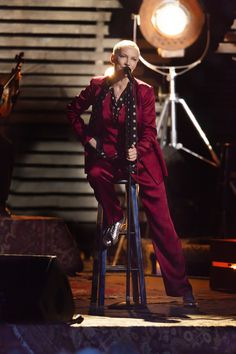 Ahead of her live music special, Annie Lennox spoke to Vogue.com about the Grammys performance seen round the world.