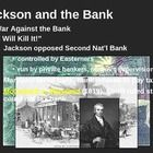 This PowerPoint presentation leads students through Andrew Jackson's war against the Second Bank of the United States.