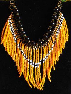 Native American tribal style fringed by MontanaTreasuresbyMJ, $60.00