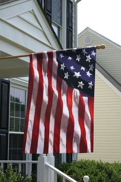American Flag for the Porch; it's a must for US :)