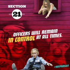 Unless it's Officer Cooper... #HotPursuit