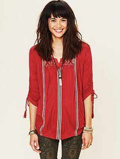 Isn't She Peasant Top from Free People