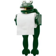 frog cup dispenser - Google Search Wood Toilet Paper Holder, Toilet Paper Roll, Frog Bathroom, Bathroom Hooks, How To Roll Towels, Portable Toilet, Tissue Holders, Paper Holders, Cheap Bathrooms