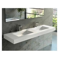 Serie ras lavabos encimeras mobiliario krion systempool 4 for Lavabo salle de bain american standard