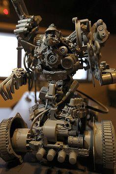 Kitbash Mechs by toybot studios, via Flickr