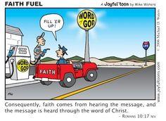 Christian Comics, Christian Cartoons, Christian Humor, Christian Quotes, Bible Words, Bible Scriptures, Bible Art, Bible Cartoon, Jesus Paid It All