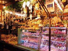 A stall in a German market