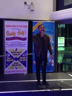 Our host Enrico Delves