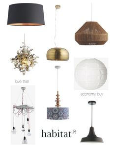 Easy Fit Pendant Lamps from the high street