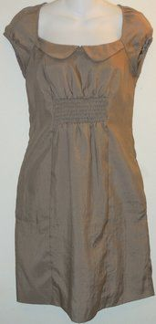 Anthropologie Taupe Maeve Dress. You'll look pretty in the Anthropologie Taupe Retro dress! Get it for less at Tradesy.com now