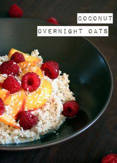 Da mach ich doch glatt den Coco Jambo {Coconut Overnight Oats} - kochkarussell.com (Almond Butter Overnight Oats)