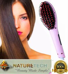 Hair Straightener Brush Ceramic Heating Comb,Digital Detangling Brush-Instant Silky Straight Hair Massage Styling Straightening Iron (Pink) >>> This is an Amazon Affiliate link. Find out more about the great product at the image link.