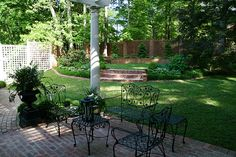Brinker Garden arbor terrace and rondelle by Pandorea..., via Flickr
