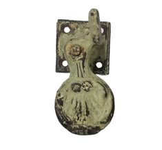 Antique Iron Shell Shutter Dog Antique Iron, Antique Copper, Shutter Dogs, Pocket Door Pulls, Dog Search, Cupboard Knobs, Back Plate, Antique Hardware, Project 3