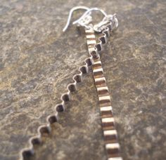 Items similar to Sterling Silver Corrugated Long Earrings, Ripples, Dangle. Can be Blackened. Other sizes available. Gift for Her or a Treat! on Etsy Long Silver Earrings, Sterling Silver Earrings, Perfect Gift For Her, Gifts For Her, Dangles, Unique Jewelry, Costume Jewelry