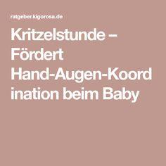 Kritzelstunde – Fördert Hand-Augen-Koordination beim Baby
