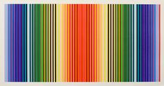 POLLY APFELBAUM     Rainbow Ribbons 1 - | 2011