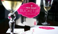 Hen Night Bucket List  Printable Game by FinalNightofFreedom