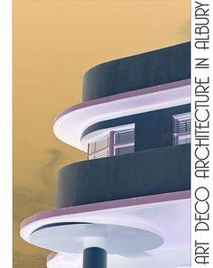 Art Deco Streamline Modern Landscape Design | Art Deco Poster | Flickr - Photo Sharing!
