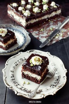 Chocolate and Halva Cake