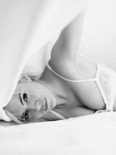 Romantic Bedroom Shoots - Sienna Miller in the New Craig McDean Photo /  #lingerie #underwear #dentelle