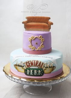 F-R-I-E-N-D-S cake Cake by VitlijaSweet