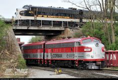 RailPictures.Net Photo: NS 4271 Norfolk Southern EMD F7(A) at Lexington, Kentucky by Norfolk Southern Corp