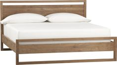 Linea King Bed    Crate and Barrel