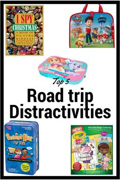 Distracting  the children while on a road trip or waiting in line. Great kids activities that don't involve electronics.