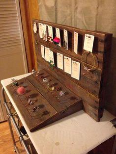 Pallet Jewelry Organizer / Holder | 99 Pallets