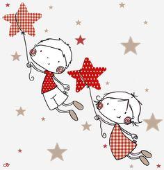 Revenons à nos boutons Illustration Noel, Winter Illustration, Christmas Illustration, Illustrations, Art For Kids, Crafts For Kids, Art Carte, Easy Coloring Pages, Happy Birthday Jesus
