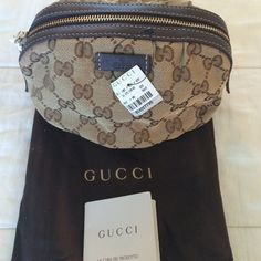 """Spotted while shopping on Poshmark: """"Gucci Cosmetic Bag""""! #poshmark #fashion #shopping #style #Gucci #Accessories"""
