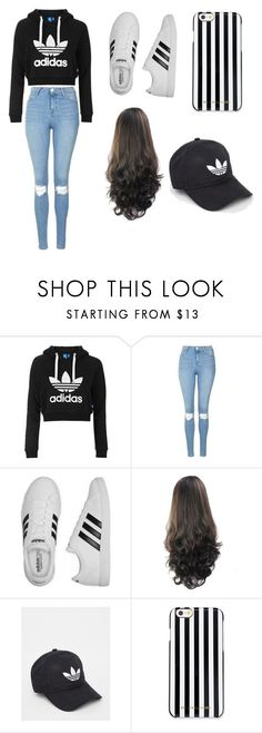 """""""How To Wear Adidas"""" by mysterygal232 on Polyvore featuring Topshop, adidas and MICHAEL Michael Kors"""