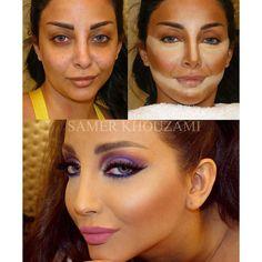 Truco del maquillaje correctivo