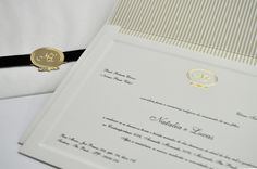 Convite de Casamento by S-CARDS.