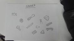 Eten > snoep (schetsen)
