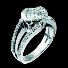 Reflection Engagement Ring