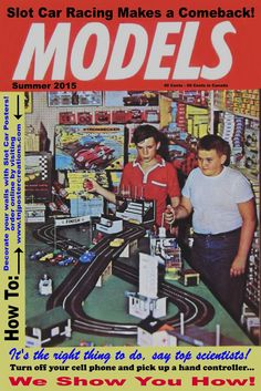 Top scientists seem to agree that vintage slot car racing is the right thing to do!