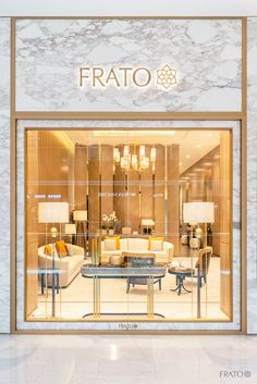 Welcome to Frato Interiors NEW FLAGSHIP STORE at The Dubai Mall Visit us on the First Floor, Store and discover Frato's enticing collection in . Jewellery Shop Design, Jewellery Showroom, Jewelry Shop, Showroom Interior Design, Boutique Interior, Interior Shop, Vintage Interiors, Shop Interiors, Shopping Mall Interior