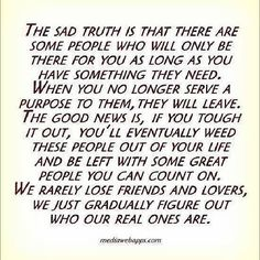 Very true. I have been left with some of the greatest people!!