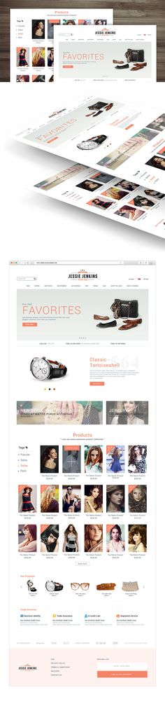 Nice Modern Premium eCommerce Website Free PSD Template. Download Modern Premium eCommerce Website Free PSD Template. A Unique & Premium E commerce PSD Template theme. Perfect for any online E-commerce website. A free Home page Modern is clean layout and super Easy to customize also well arranged and organised PSD layers. This free psd file will be a huge inspiration to your next design for eCommerce related websites or applications and can be used a great reference psd. Hope you like it…