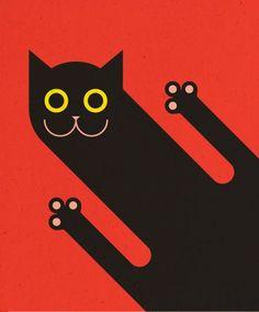 Komboh illustration. #CatIllustration