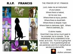 For Francis, a victim