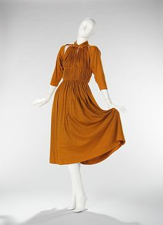 Ensemble                                          Claire McCardell             (American, 1905–1958)                                                                                                           Manufacturer:                                      Townley Frocks (American)                                                       Date:                                      1949                                                       Culture:                                      American